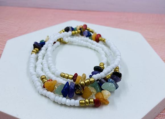 Chakra Chip Waist Beads
