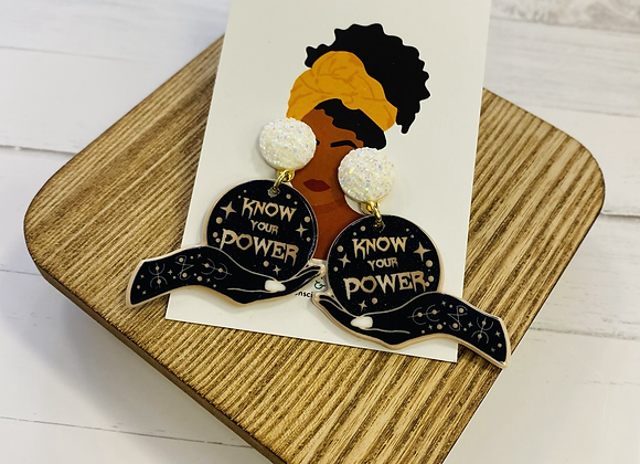 Know Your Power Earrings