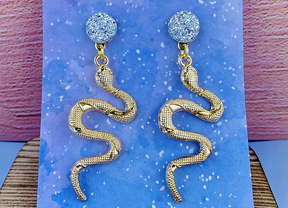 """The """"Eden"""" Serpent Earring"""
