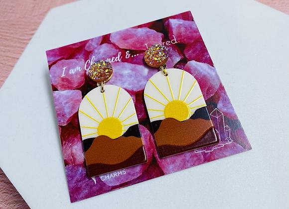 Landscape Drop Earrings
