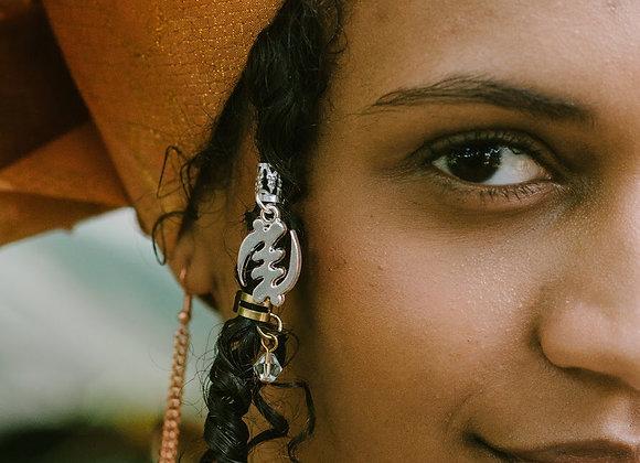 Gye Nyame Loc Jewel/Ear Cuff