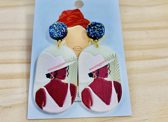The Havana Drop Earrings