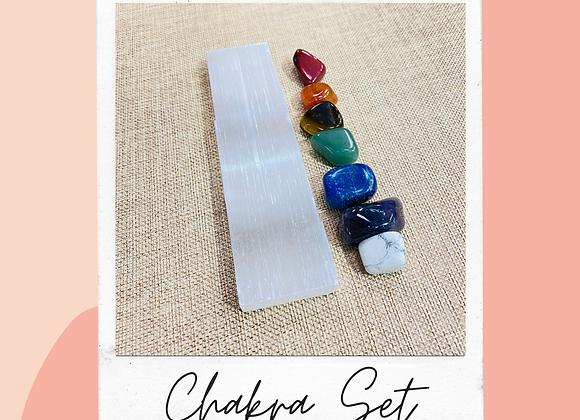 Chakra Charging Set