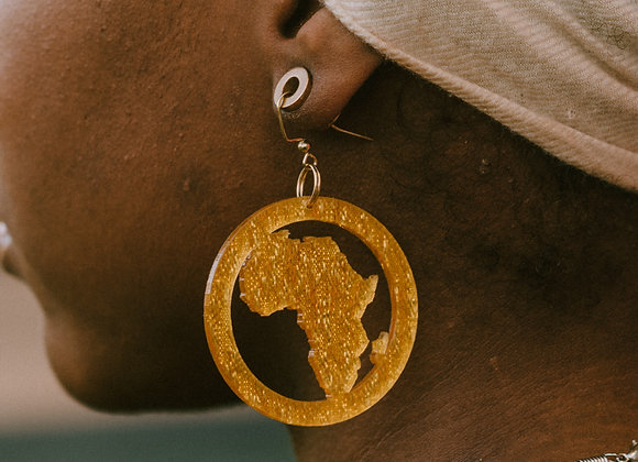 Motherland Earrings - Gold