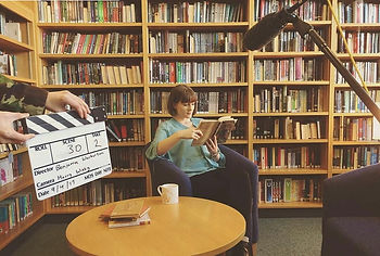 On set The Librarian