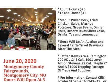 2020 Missouri Trappers Training Academy Banquet