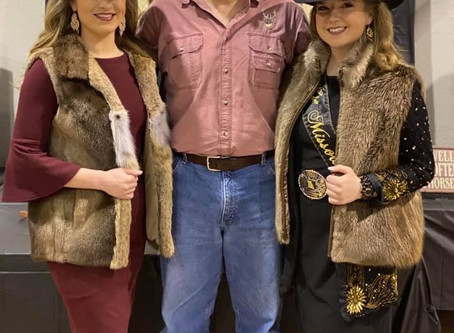 MTA Presents New Miss Rodeo Missouri A Fur Vest