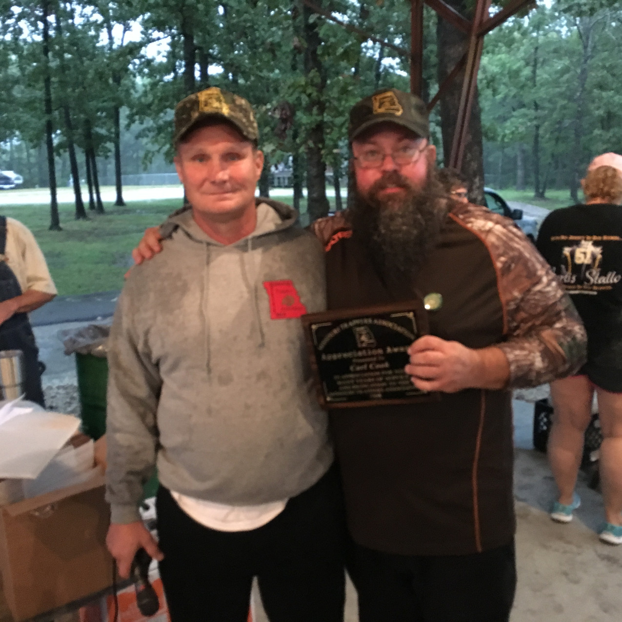 Carl Cook, Appreciation Award