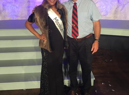 MTA Presents New Miss Missouri Fur Vest