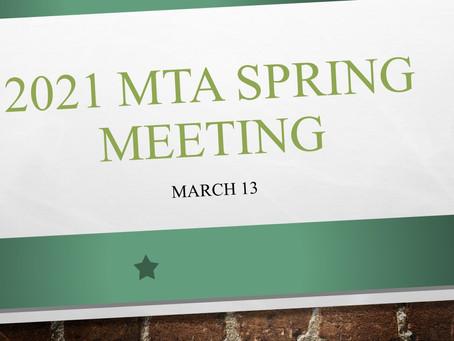 MTA 2021 Spring Meeting