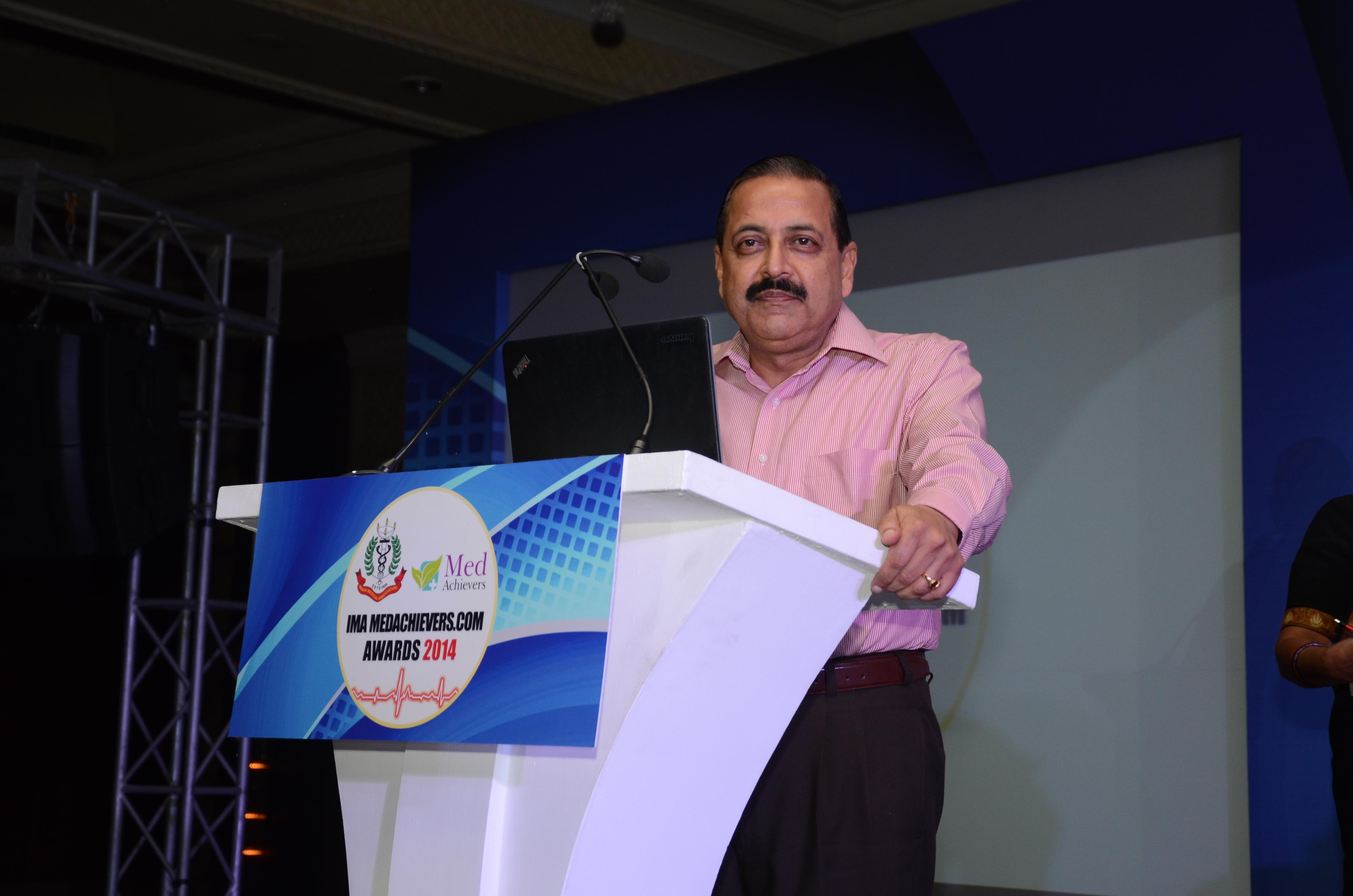 Dr. Jitendra Singh, Minsiter, GOI