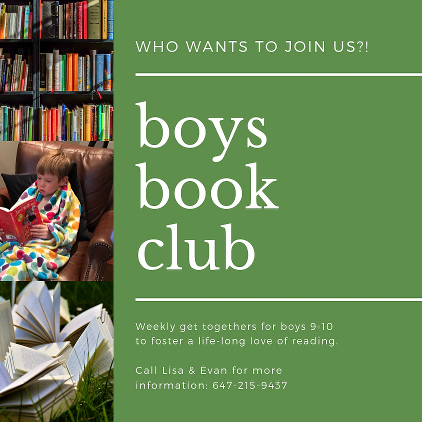 Boys Book Club, Mooredale House, Toronto