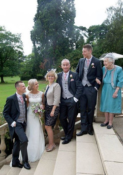 Mr and Mrs Sellar with their family