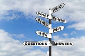 Finding 'Questions' to our 'Answers'