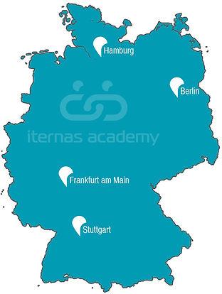 Standorte Übersicht iternas Academy