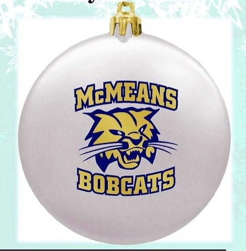 McMeans Bobcat Holiday Ornament