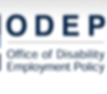 Logo for ODEP Office of Disability Employment Policy Worksite Accommodations