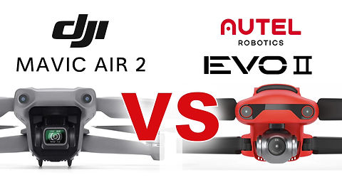 MAVIC AIR 2 vs AUTEL EVO 2