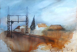 Katie_Roberts_Rust and the Railway track