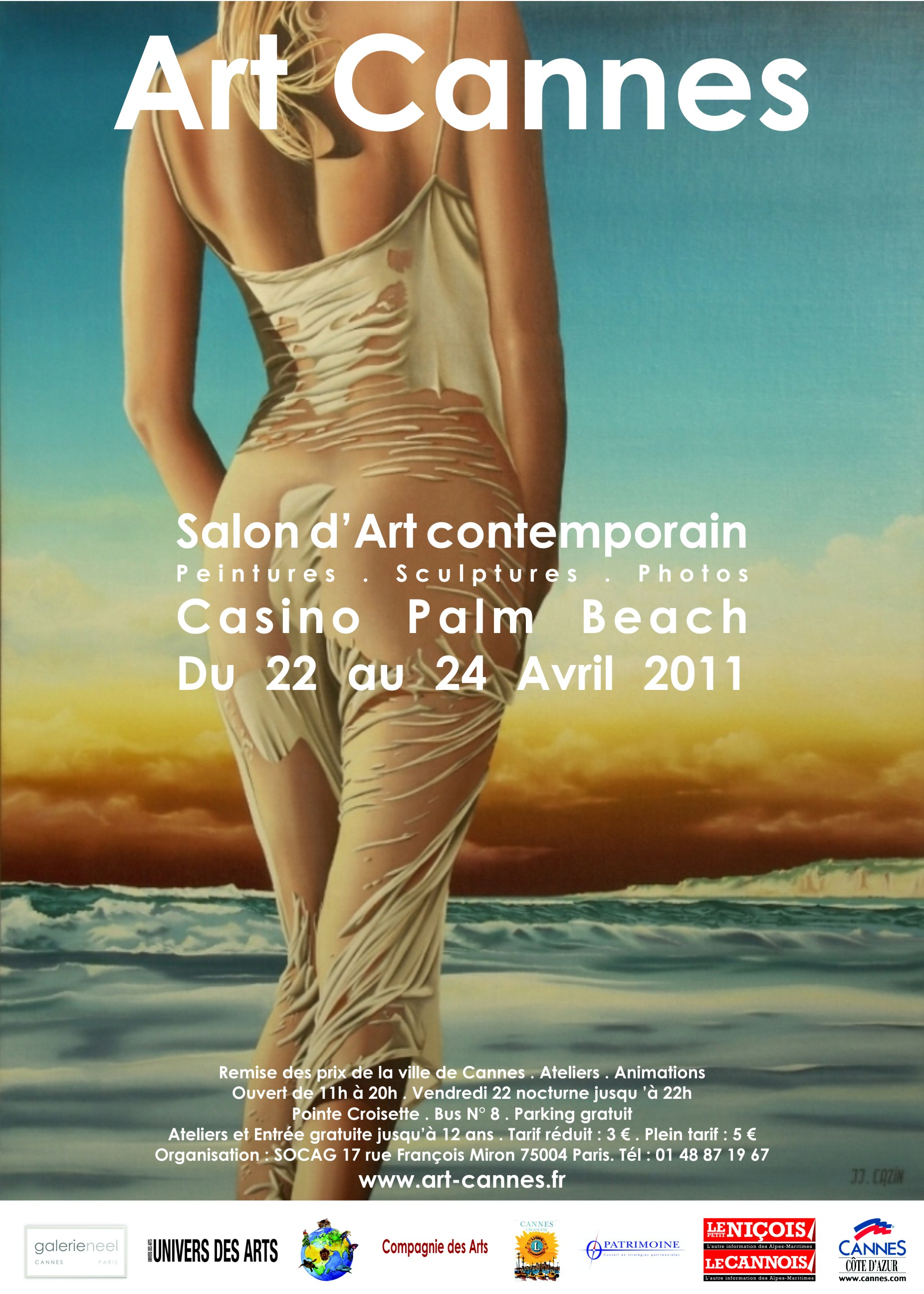 Affiche Art Cannes 2011 - jpg