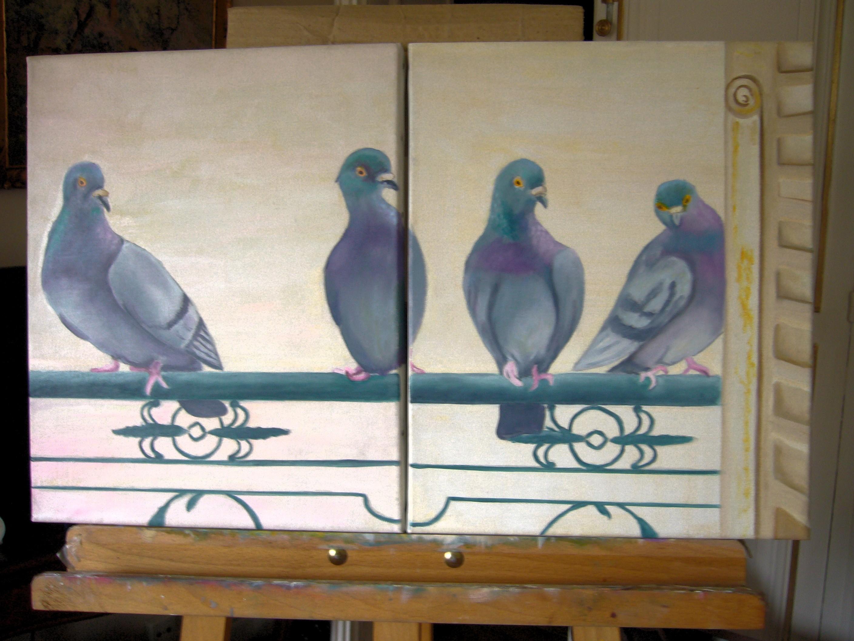 Pigeons de Paris