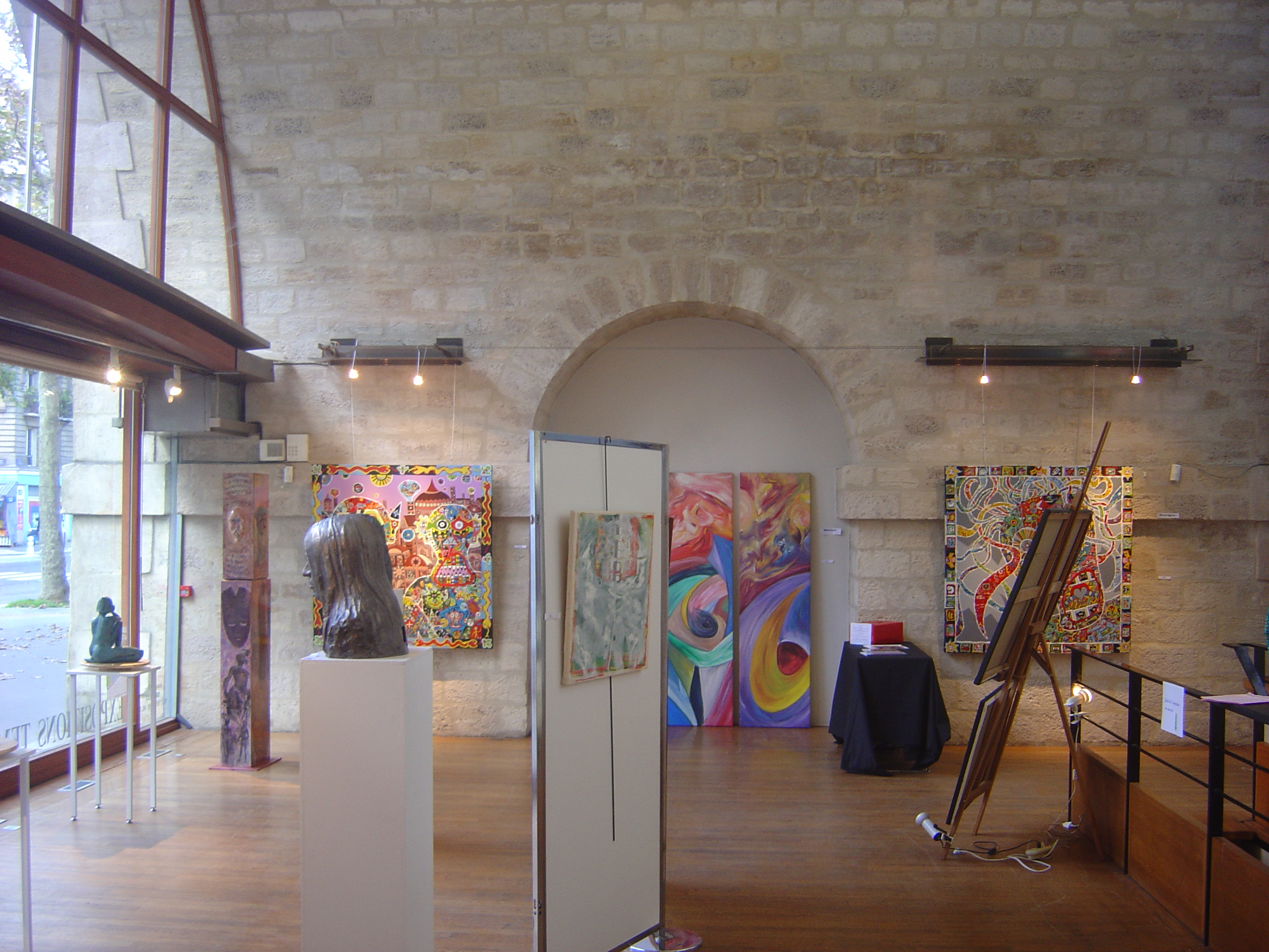 EXPO INTERNLE  VIADUC DES ARTS PARIS