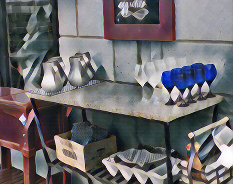 Beside the Café