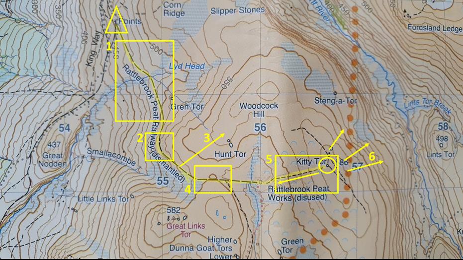 harveys map dartmoor