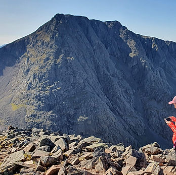 The CMD arete, Ben Nevis