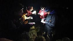 Night navigation course, dartmoor
