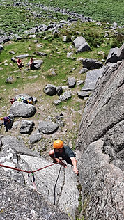 Rock Climbing courses on Dartmoor, Sheeps Tor