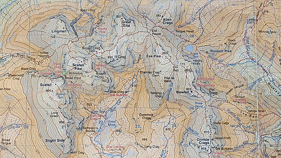 Harvey Maps, The Lake District