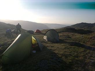 Wild Camping, Lake District