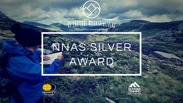NNAS silver award, navigating on Tryfan, snowdonia