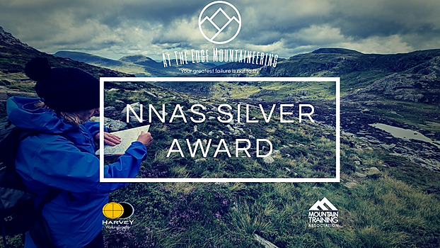 NNAS silver award, navigating on Tryfan, snowdonia