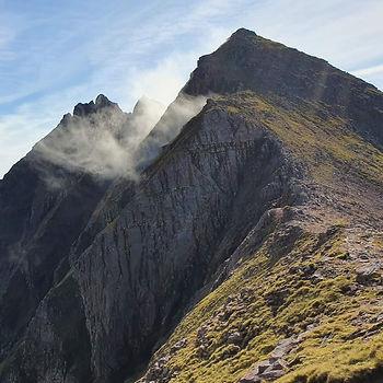 Scrambling An Teallach, Scotland
