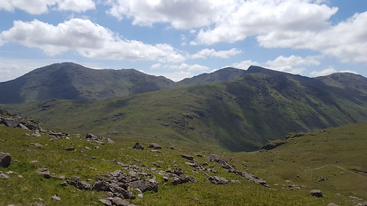 Wetherlam, Swiral How, Great Carrs, The Lake District