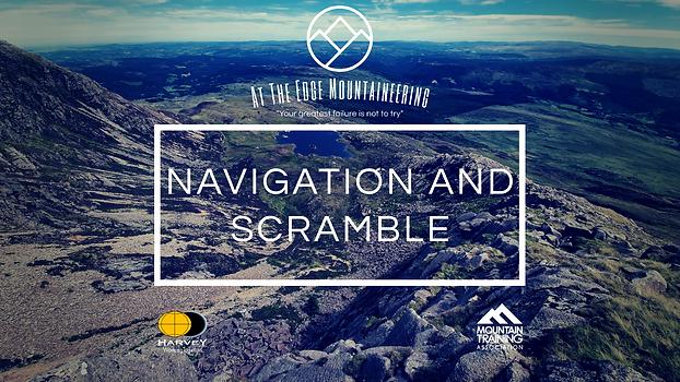 navigation and scrambling courses, Daear Ddu ridge, moel siabod