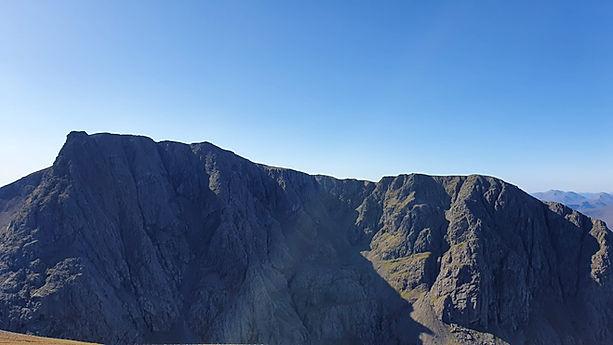Ben Nevis North Face from CMD arete