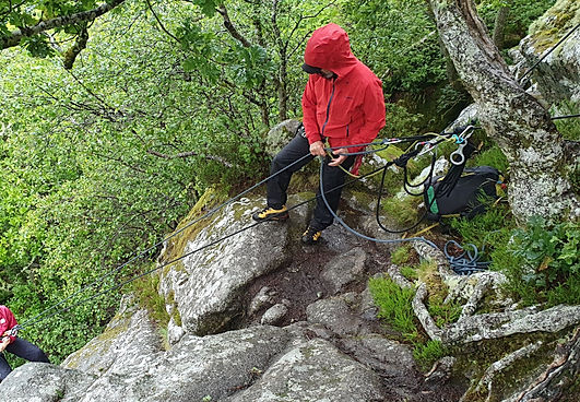 Rock Climbing courses on Dartmoor, Dewerstone