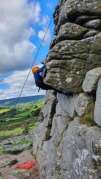 Rock Climbing courses on Dartmoor, hound tor