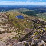Daear Ddu ridge, moel siabod, Snowdonia