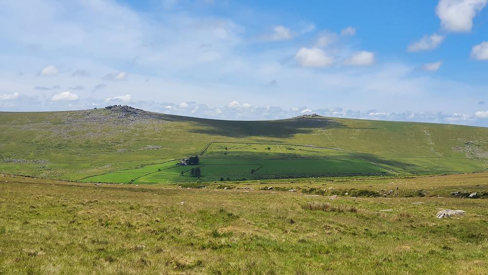 Staples Tor Dartmoor