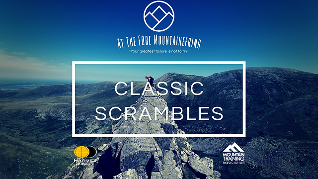 classic scrambles, Crib lem spur, llech ddu spur, snowdonia