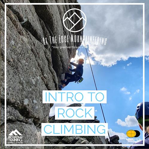 Intro to Rock Climbing - 2 Days