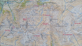 Harvey Maps, Ring of Steall