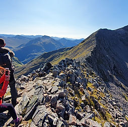 ben nevis guided scramble CMD arete scot