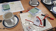 navigation resources, maps, compass, timing cards