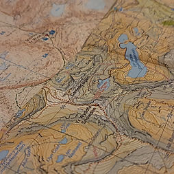 navigation courses maps mountains