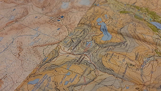 Harvey Maps and Ordnance Survey map of Snowdon